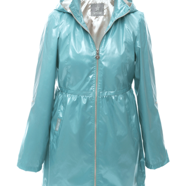 Dry Star Ocean Green raincoat