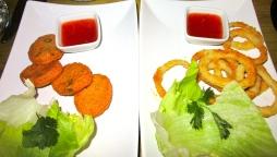Fishcakes and Calamari