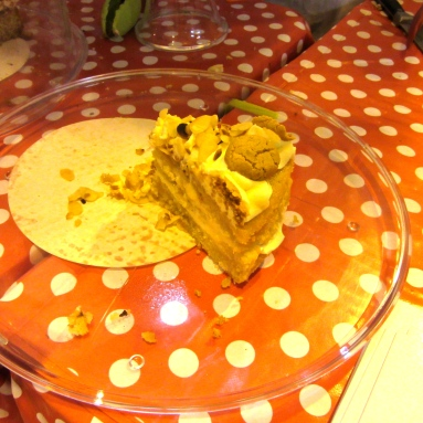 Amaretto Cake!