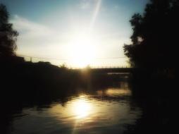 Sunrise over the Mekong River