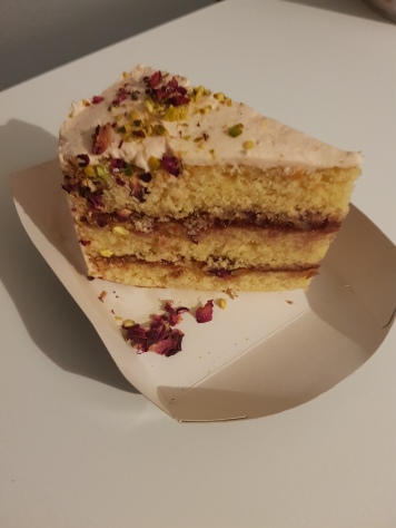 Rose, Pistachio and Raspberry